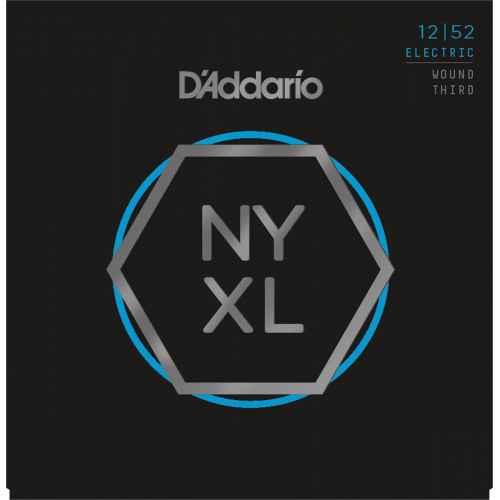 D´addario NYXL1252W Electric Wound Third [12 52]
